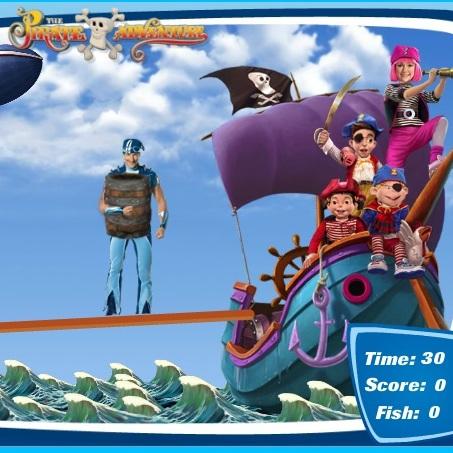 Лентяево приключение пиратов