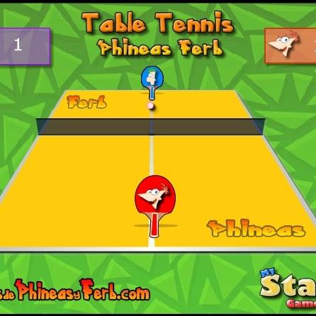 Финес И Ферб играют в тенис