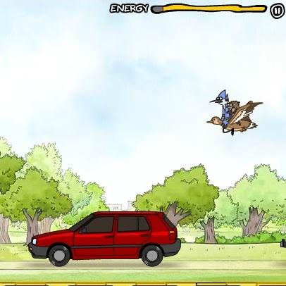 Обычное шоу перелеты с машины на машину