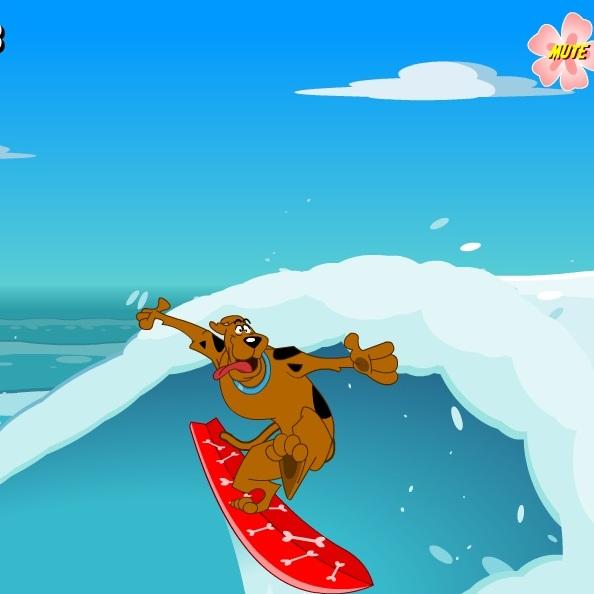 Скуби-Ду серфингист