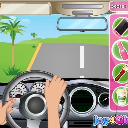 Барби безрассудство за рулем