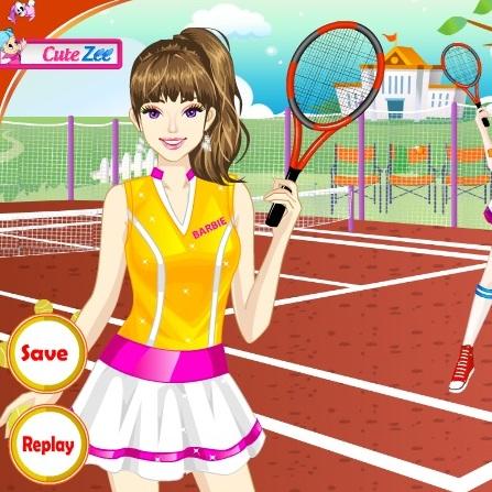 Тенисистка Барби