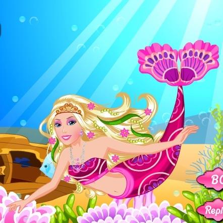 Барби русалочка