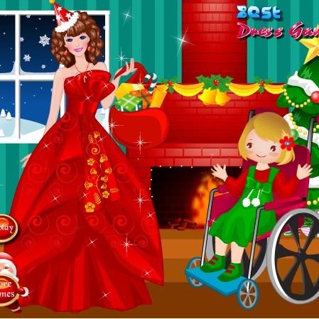 Барби рождесвтенская фея