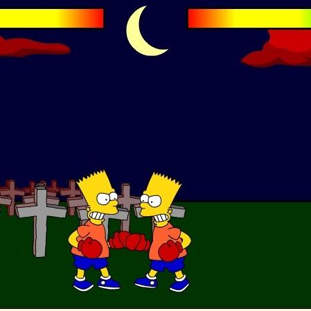 Симпсоны драка Барт против Барта