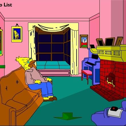 В доме у Симпсонов