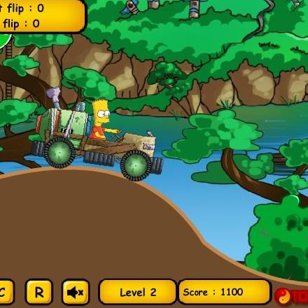 Симпсоны самодельное авто Барта