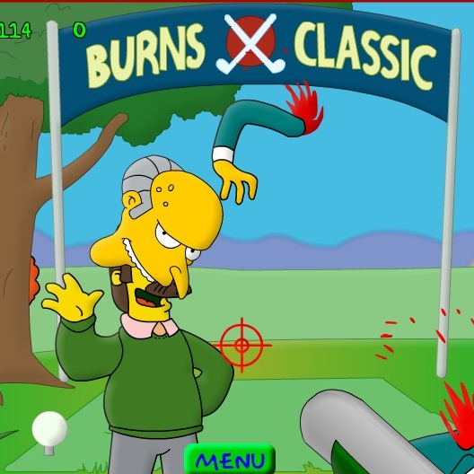 Симпсоны Гомер мочит Фландерсов 6