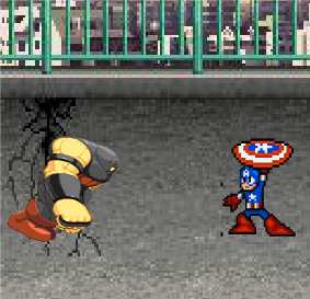 Капитан Америка: Боевая анимация