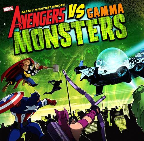 Капитан Америка против гамма Монстры