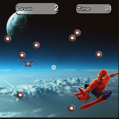 Человек-паук в невесомосте