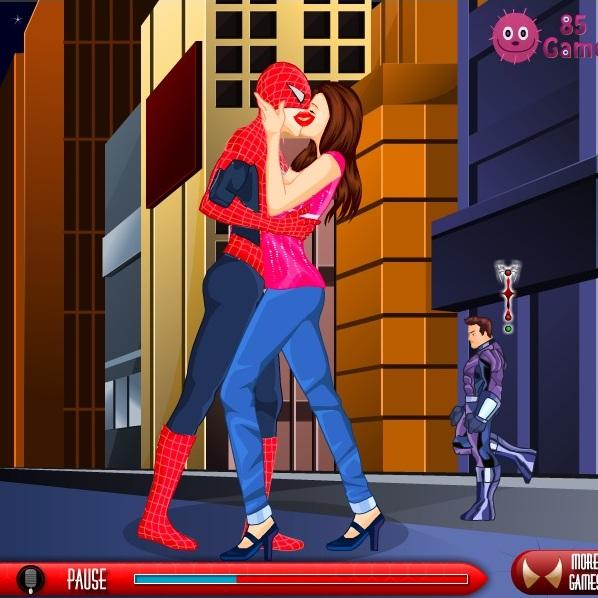 Поцелуи Человека-паука