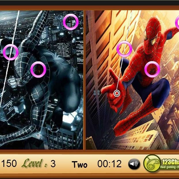 Человек-паук найди сходство