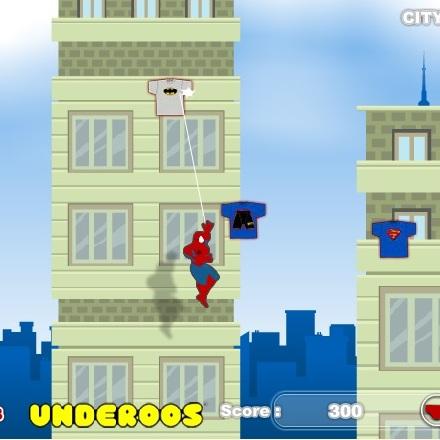 Помогите собрать одежду Человеку-пауку