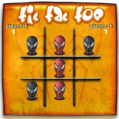 Человек-паук крестики-нолики