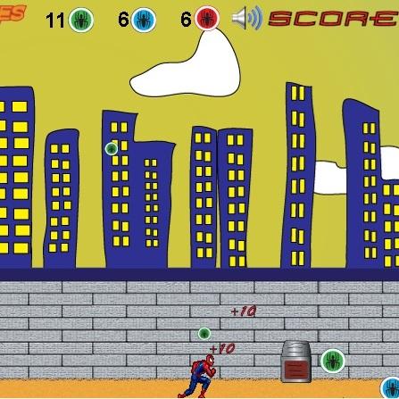 Человек-паук спасатель паучков