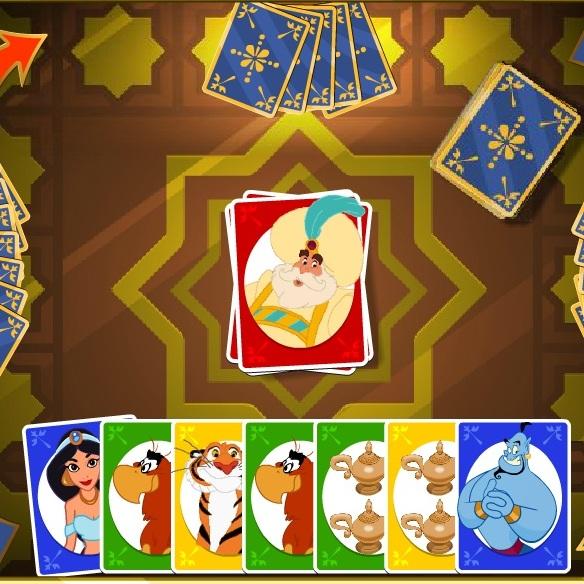 Алладин игра в карты