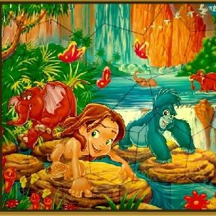 Пазл Тарзан и друзья