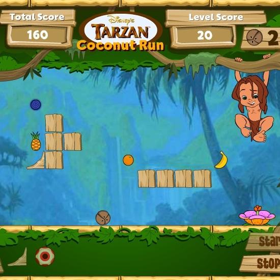 Помоги словить какос Тарзану