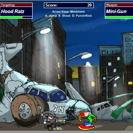 Робот защитник города