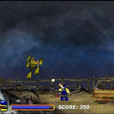 Боевой Робот 2