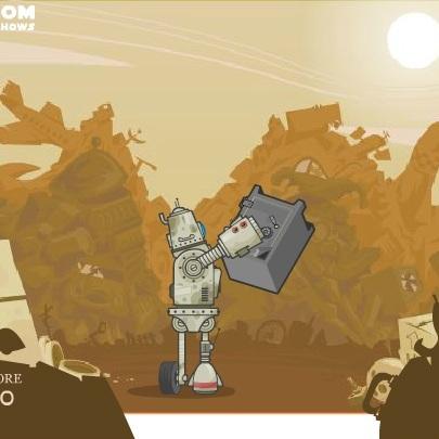 Робот мусорозборщик