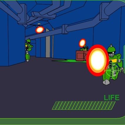 Робот снайпер