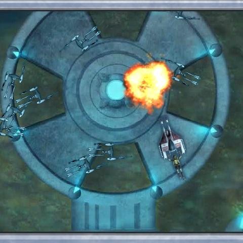 Звёздные Войны подводный бой