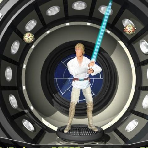 Звёздные Войны тренировка Джедая
