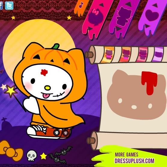 Хелло Китти костюм на хэллоуин