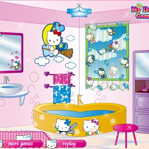 Ванная комната Хелло Китти