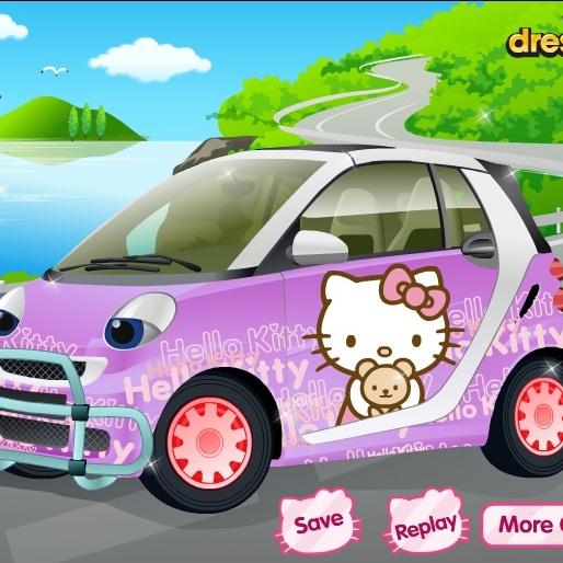 Машинка для Хелло Китти