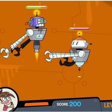 Тимми Тернер битва роботов