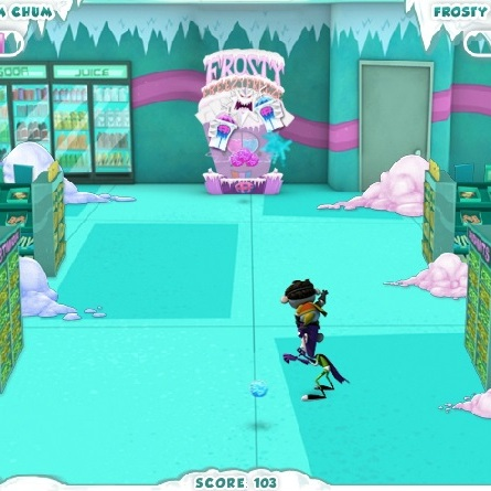 Фанбой и ам-Чам борьба в снежками