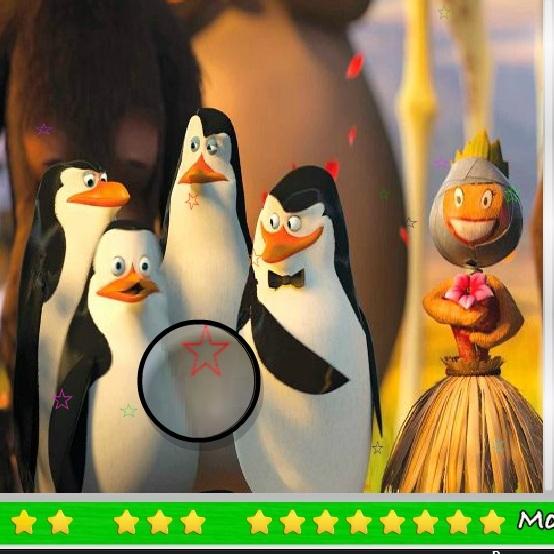 Пингвины Мадагаскара затерянные звёзды