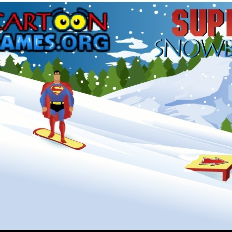 СуперМен сноубордист