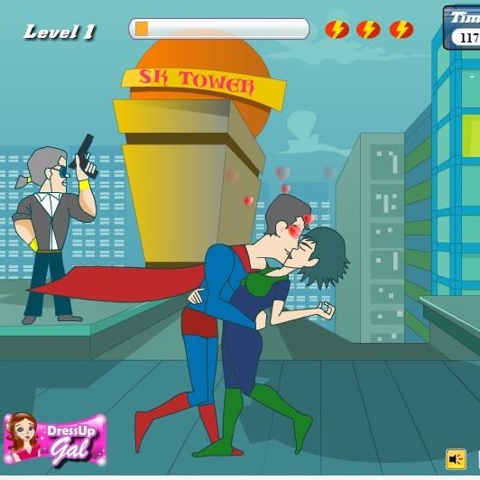 Поцелуи СуперМена