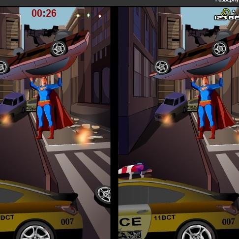 СуперМен найди отличия