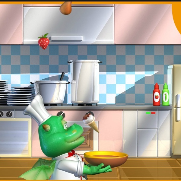 Дракончик на кухне