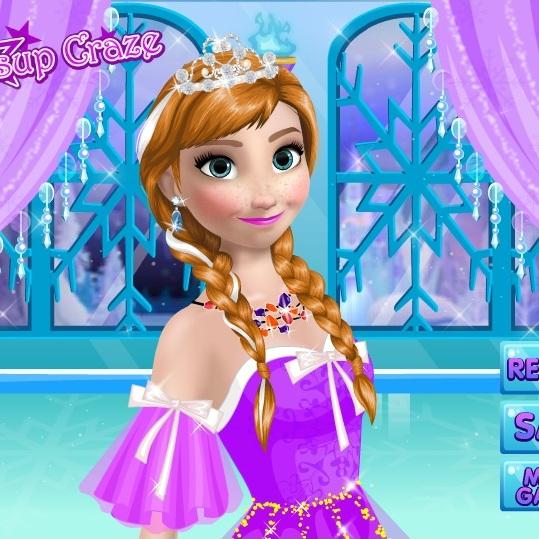 Холодное Сердце макияж Анны
