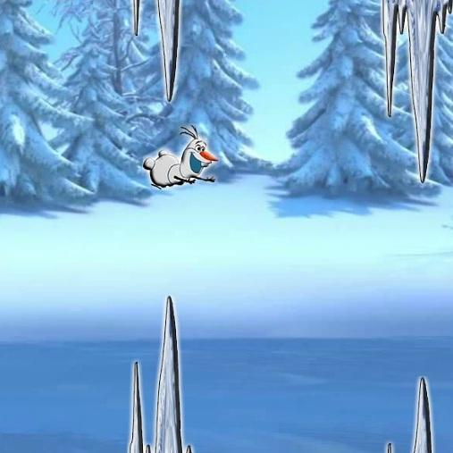 Холодное Сердце опасные прыжки Олафа