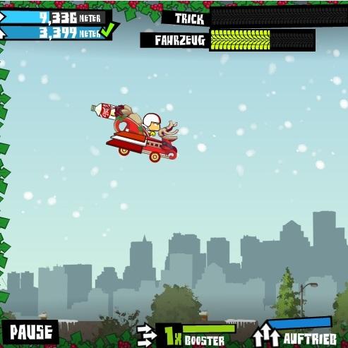 Кик Бутовски рождественский полёт