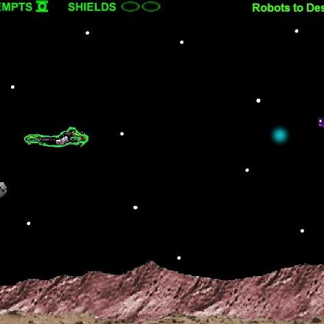 Зелёный Фонарь битва в полёте