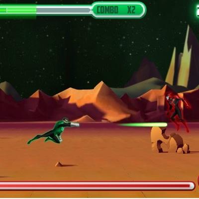 Зелёный Фонарь жестокая битва