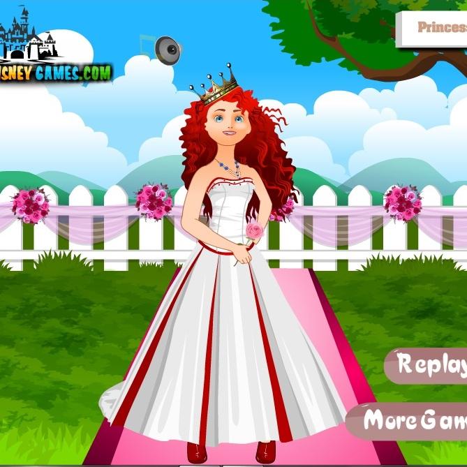 Храбрая Сердцем свадебная одежда
