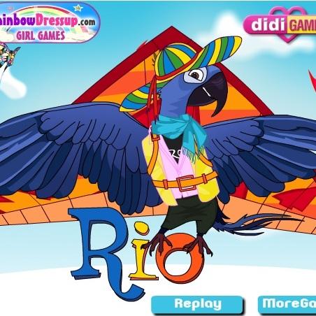 Рио новый образ Голубчика