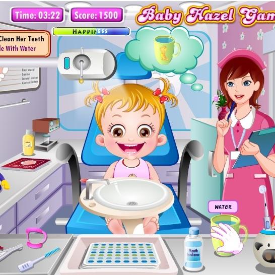 Малышка Хейзел у дантиста
