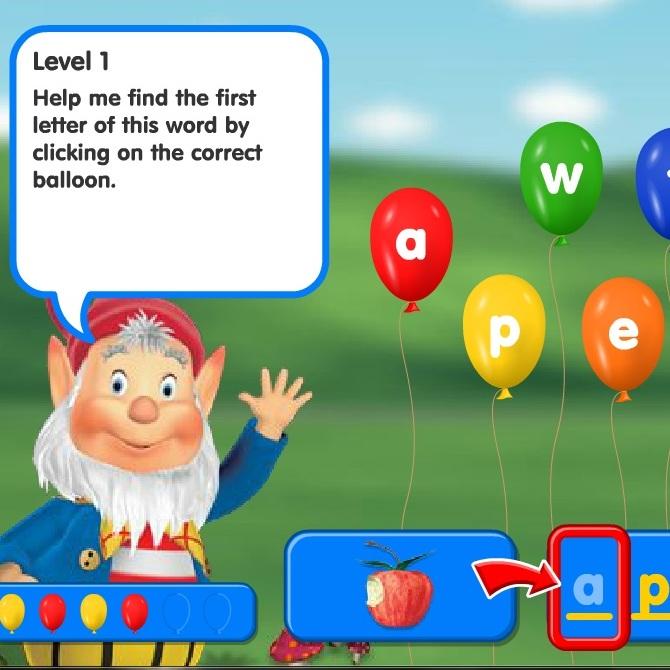 Нодди изучаем буквы