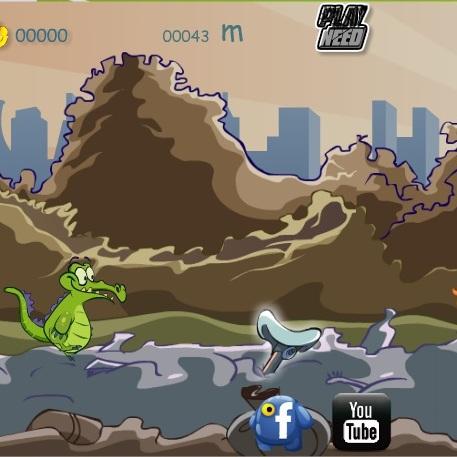 Крокодильчик Свомпи прыгун