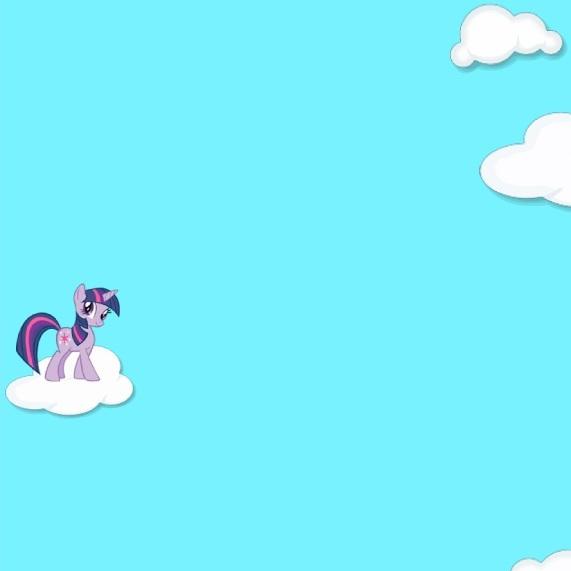 Литл Пони полёт в облаках